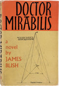 Books:First Editions, James Blish. Doctor Mirabilis. London: Faber and Faber,[1964]. First edition. Publisher's binding and dust jacket w...