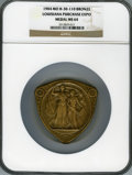 Expositions and Fairs, 1904 Bronze Louisiana Purchase Exposition Medal MS64 NGC. St.Louis, MO. Original box included....