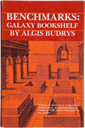 Books:Signed Editions, Algis Budrys. Benchmarks: Galaxy Bookshelf. Carbondale: Southern Illinois University Press, [1985]. First edition. ...