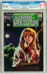 House of Secrets #92 (DC, 1971) CGC NM+ 9.6 White pages