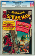 Silver Age (1956-1969):Superhero, The Amazing Spider-Man #18 (Marvel, 1964) CGC NM+ 9.6 Off-white towhite pages....
