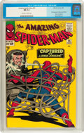 Silver Age (1956-1969):Superhero, The Amazing Spider-Man #25 (Marvel, 1965) CGC NM 9.4 Off-white to white pages....