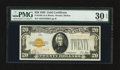 Small Size:Gold Certificates, Fr. 2402 $20 1928 Gold Certificate. PMG Very Fine 30 EPQ.. ...