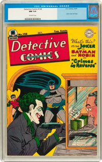 Detective Comics #128 (DC, 1947) CGC NM 9.4 Off-white pages