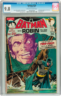 Batman #234 (DC, 1971) CGC NM/MT 9.8 Off-white to white pages