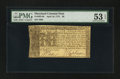 Colonial Notes:Maryland, Maryland April 10, 1774 $6 PMG About Uncirculated 53 EPQ.. ...