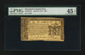 Colonial Notes:Maryland, Maryland April 10, 1774 $2/3 PMG Choice Extremely Fine 45 EPQ.. ...