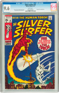 Bronze Age (1970-1979):Superhero, The Silver Surfer #15 (Marvel, 1970) CGC NM+ 9.6 White pages....