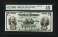 Canadian Currency: , Montreal, PQ- Bank of Montreal $20 Jan. 2, 1891 Ch. # 505-40-06FPFace Proof. ...
