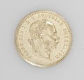 Austria: , Austria: Franz Joseph I gold Ducat 1882, KM2267, prooflike UNC,scarcer date.. From the Blue Ridge Collection...