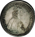 Austria: , Austria: Olmutz. Jakob Ernst Taler 1742, KM165, Davenport 1230,toned AU, struck on an out-of-round planchet with some small flawson...