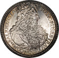 Austria: , Austria: Trautson. Franz Eusebius Taler 1708, KM31, Davenport 1200,gorgeous AU-UNC, incredibly intricate details and virtually full...