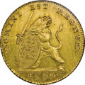 Austria: , Austria: Austrian Netherlands. Leopold II Insurrection gold 14Florins 1790, KM51, Friedberg 402, MS61 NGC, attractively tonedwith b...