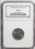 British West Africa: , British West Africa: George VI 3 Pence 1939KN, KM21, Proof 63NGC....
