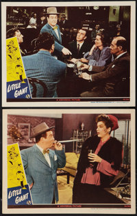 """Little Giant (Universal, 1946). Lobby Cards (2) (11"""" X 14"""") and Photos (5) (8"""" X 10""""). Comedy. ... (..."""