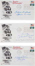 Autographs, Three First Day Covers Signed by Fast Food Founders. ...