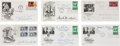 Autographs, First Day Covers Signed by Medical Innovators. ...