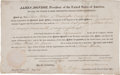 Autographs:U.S. Presidents, James Monroe Land Grant Signed...
