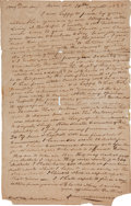 Autographs:U.S. Presidents, [1828 Presidential Election] Autograph Letter Signed...
