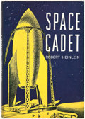 Books:Science Fiction & Fantasy, Robert A. Heinlein. Space Cadet. New York: CharlesScribner's Sons, 1948. First edition. Octavo. 237 pages. Illu...