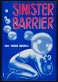 Books:Science Fiction & Fantasy, Eric Frank Russell. Sinister Barrier. Reading, Pennsylvania: Fantasy Press,1948. First edition, number 184 of 50...
