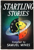 Books:Signed Editions, [Samuel Mines, editor]. Startling Stories. London: Cassell & Company, 1954. First edition. Signed by Ray Bradbury ...