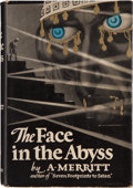 Books:Science Fiction & Fantasy, Abraham Merritt. The Face in the Abyss. New York: HoraceLiveright, [1931]. First edition. Octavo. 343 pages. Publi...