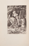 Books:Children's Books, Lewis Carroll. Through the Looking-Glass and What Alice FoundThere. New York: Limited Editions Club, 1935. Special ...