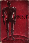 Books:Science Fiction & Fantasy, Isaac Asimov. I, Robot. New York: Gnome Press, Inc. Publishers, [1950]. First edition. Octavo. 253 pages. Publisher'...