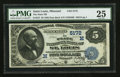 National Bank Notes:Missouri, Saint Louis, MO - $5 1882 Date Back Fr. 537 The State NB Ch. #(M)5172. ...