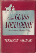 Books:Signed Editions, Tennessee Williams. The Glass Menagerie. New York: RandomHouse, [1945]. First edition, first printing. Inscri...