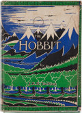 Books:First Editions, J. R. R. Tolkien. The Hobbit, or There and BackAgain. London: George Allen & Unwin, [1937]. First edition,seco...