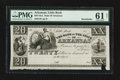 Obsoletes By State:Arkansas, Little Rock, AR- Bank of the State of Arkansas $20 G46 Rothert 400-3. ...