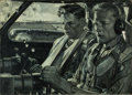 Mainstream Illustration, HAROLD VON SCHMIDT (American, 1893-1982). Cockpit Scene. Oilon canvas. 22.5 x 32 in.. Signed lower left. ...