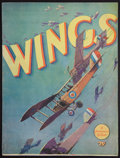 "Movie Posters:Academy Award Winners, Wings (Paramount, 1927). Souvenir Program (Multiple Pages, 9"" X12""). Academy Award Winners.. ..."