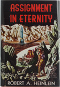 Books:Signed Editions, Robert A. Heinlein. Assignment in Eternity. Reading,Pennsylvania: Fantasy Press, [1953]. First edition. One of five...