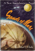 Books:First Editions, Arthur C. Clarke. Sands of Mars. New York: Gnome Press,[1952]. First American edition. Inscribed by Clarke to...