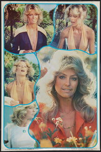 """Farrah Fawcett in """"Charlie's Angels"""" (Spelling-Goldberg, 1976). Personality Poster (23"""" X 35""""). Misc..."""