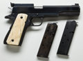 Handguns:Semiautomatic Pistol, **Custom Clark/Colt Long Slide Model 1911 Semi-Automatic Pistolwith Two Extra Magazines....