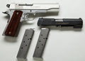 Handguns:Semiautomatic Pistol, **Cased Custom Colt Lightweight Commander Semi-Automatic Pistol together with Ciener .22 Conversion Kit and Extra Magazines....