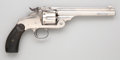 Handguns:Single Action Revolver, Smith & Wesson New Model No. 3 Single Action Revolver with GunRig....
