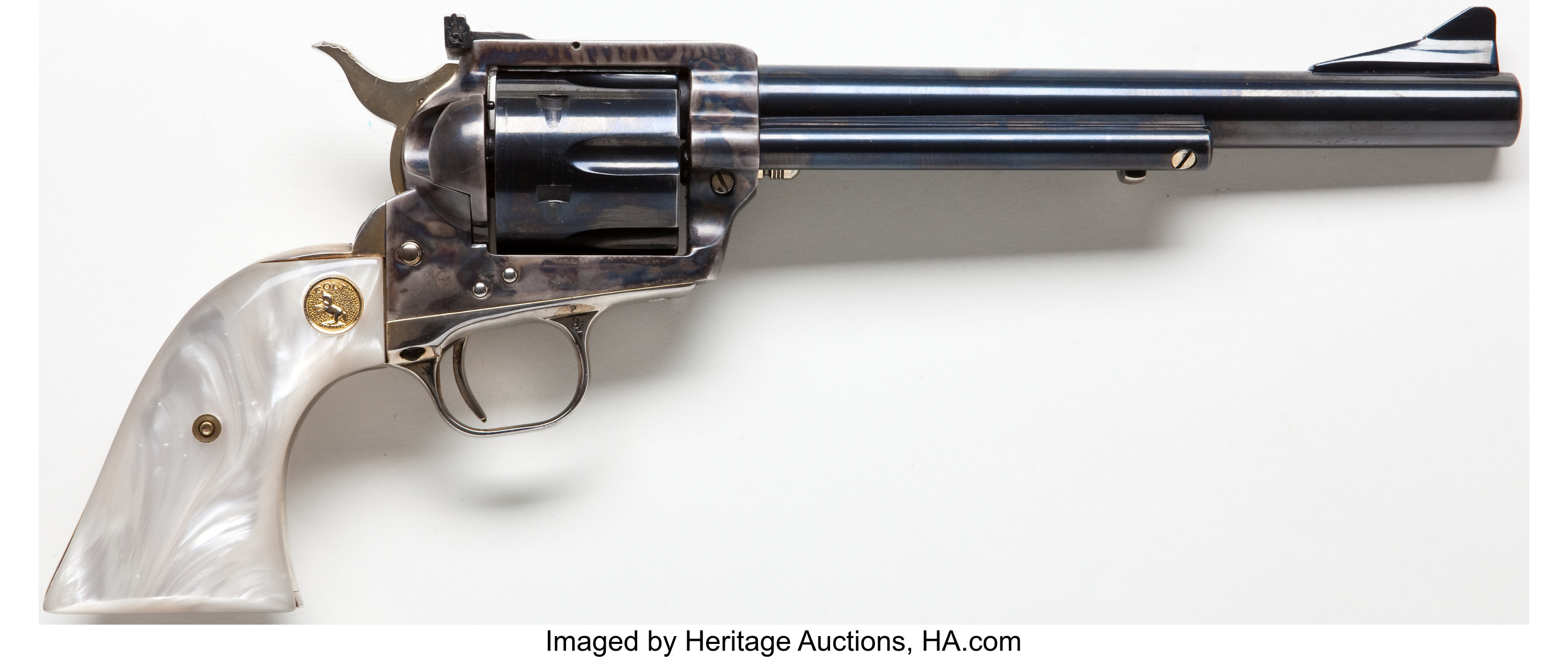 Colt Second Generation New Frontier Single Action Revolver