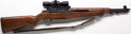 Long Guns:Bolt Action, *.30/06 Springfield M-1 Garand Rifle with Telescopic Sight....