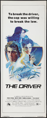"The Driver & Other Lot (20th Century Fox, 1978). Insert (14"" X 36"") & One Sheet (27"" X 41"")..."