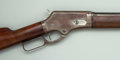 Long Guns:Lever Action, Marlin Model 1881 Lever Action Rifle with Leather Scabbard....