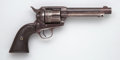 Handguns:Single Action Revolver, Colt Frontier Six-Shooter Revolver together with Holster....
