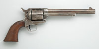 Colt Single Action Revolver with Antique Military Gun Rig
