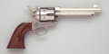 Handguns:Single Action Revolver, Colt Frontier Six-Shooter Revolver with Holster....