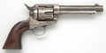 Handguns:Single Action Revolver, U.S. 7th Cavalry Colt Artillery Model Single Action Revolver Together with Holster....
