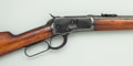 "Long Guns:Lever Action, Winchester Model 1892 ""Trapper"" Style Saddle Ring Carbine...."